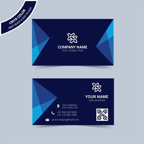 Business Card Format