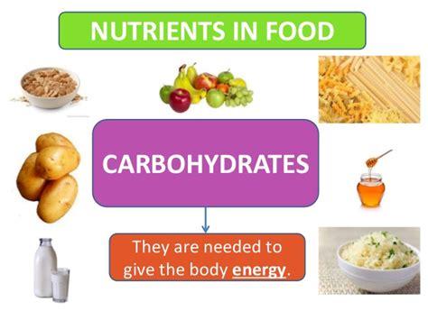 carbohydrates nutrients nutrients in food y3