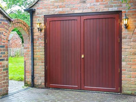side hinged garage doors everest
