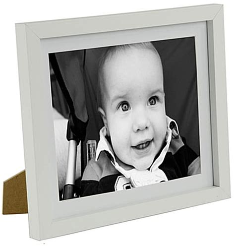 10 By 10 Matted 6 By 6 - 8 quot x 10 quot matted wood picture frames white