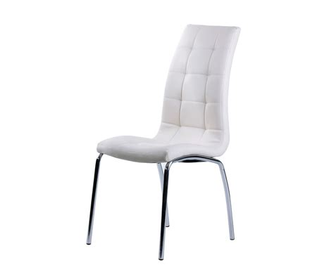 White Faux Leather Dining Chairs White Faux Leather Dining Chair