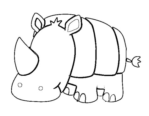 baby rhino coloring page baby rhino coloring page coloringcrew com
