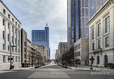Sweepstakes Raleigh Nc - view of downtown raleigh north carolina photograph by john