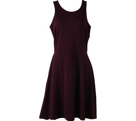 Mini Dress H M h m maroon mini dress