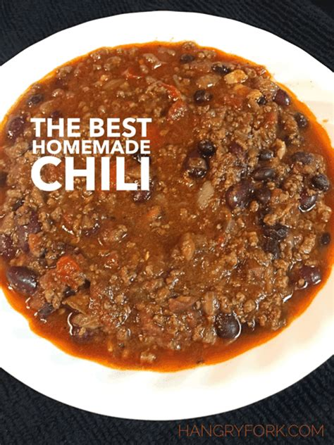 best chili recipes the best chili recipe hangry fork