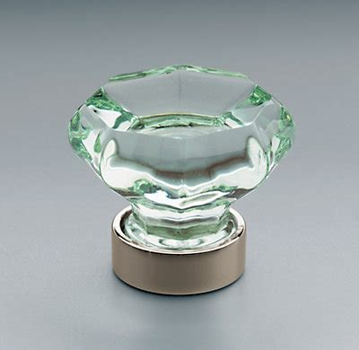 Knob Glass by Traditional Green Glass Knob