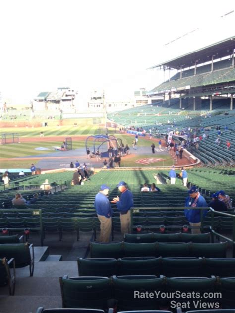 section 216 wrigley field wrigley field section 216 chicago cubs rateyourseats com
