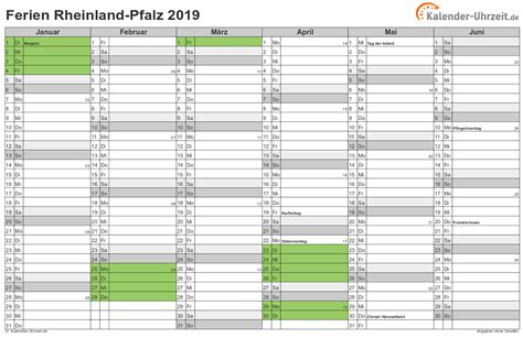 Kalender 2018 Zum Ausdrucken Mit Ferien Rlp Ferien Rheinland Pfalz 2019 Ferienkalender Zum Ausdrucken