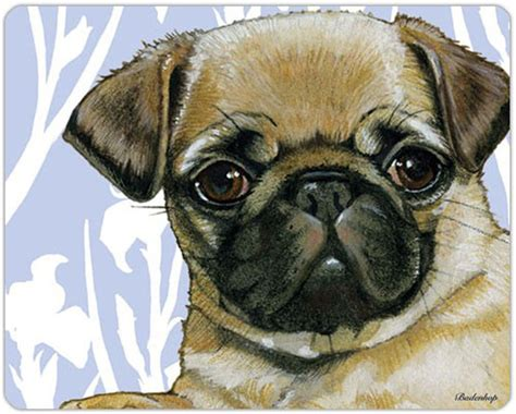 pug board pug cutting board tempered glass fawn ebay