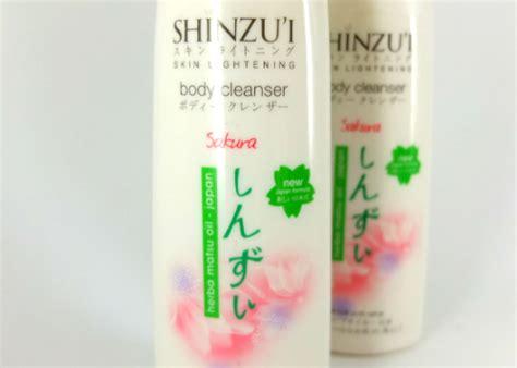 Shinzui Cleanser coba dan review shinzu i skin lightening cleanser