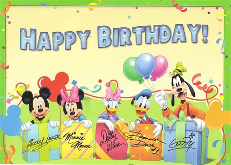 printable birthday cards disney birthday card free popular disney birthday card disney