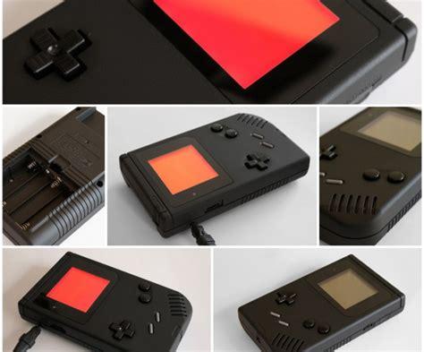 custom gameboy color inspektor gadjet custom gameboy dmg personalizada