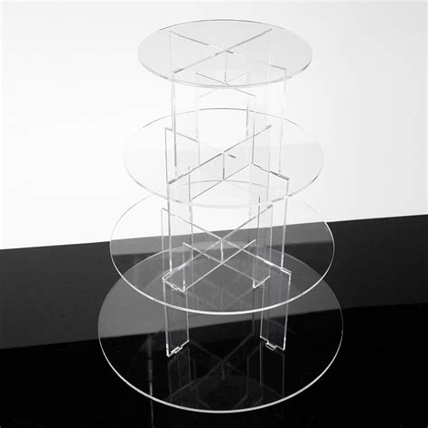 Tier Acrylic 4 tiered clear acrylic plastic cupcake cake plate