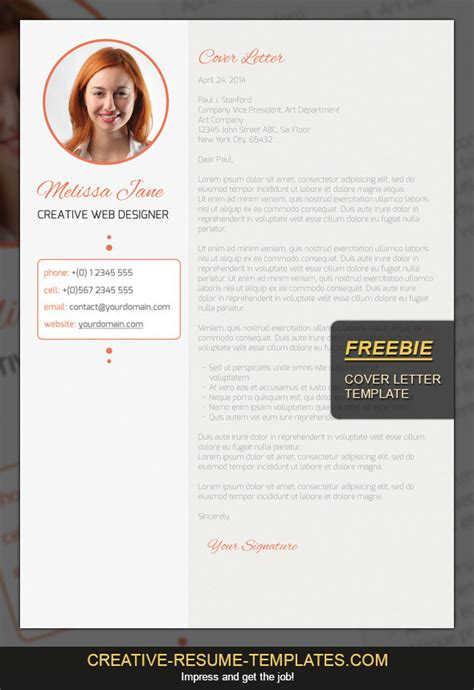 Best Free Resume Templates Around The Web Fancy Resumes Free Cover Letter Template