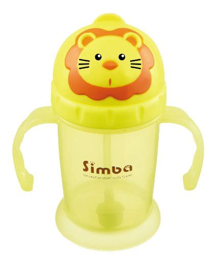 Simba Ppsu Sippy Cup simba flip it straw cup yellow 8 ounce baby toddler nursing feeding sippy cups