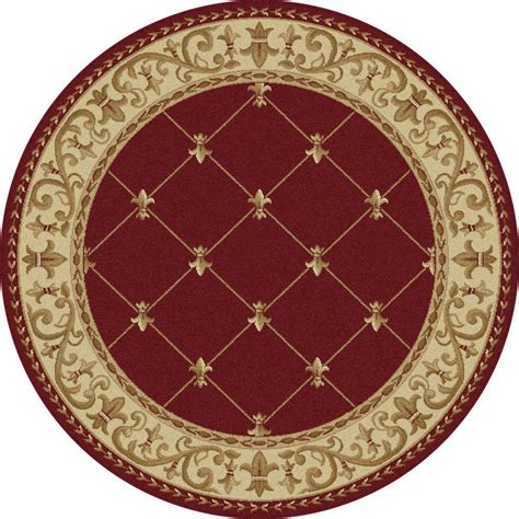 5 foot rugs tayse rugs sensation 5 ft 3 in x 5 ft 3 in traditional area rug 4880 6