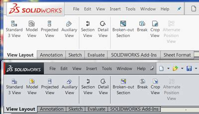 screen layout meaning solidworks 2016 what s new user interface sw2016