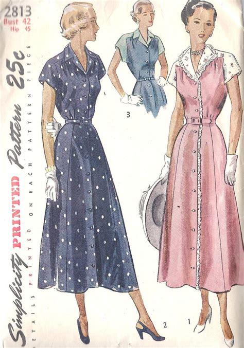 pattern vintage fashion 1940s dress patterns free 1940s womens plus size dress