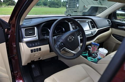 2015 Toyota Highlander Interior 2015 Toyota Highlander Awd Limited Interior Photos 2