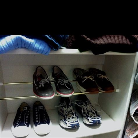 Tension Rod Shoe Rack by Tension Rods Shoes Organizer And Organizers On