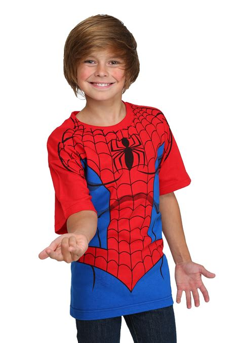 Tshirt A97 1 Years Product boys spider costume t shirt