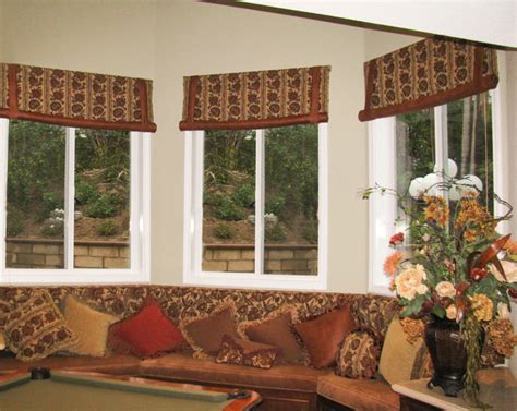 family room window treatments window treatments