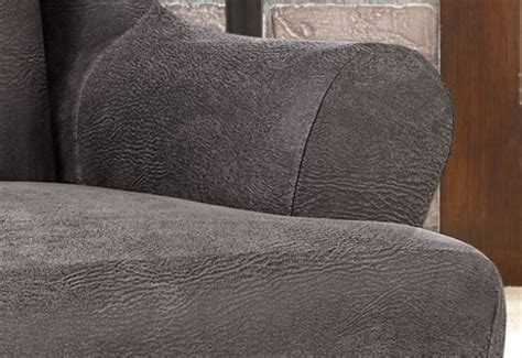 Faux Leather Sofa Cover Ultimate Stretch Faux Leather Sofa Cover