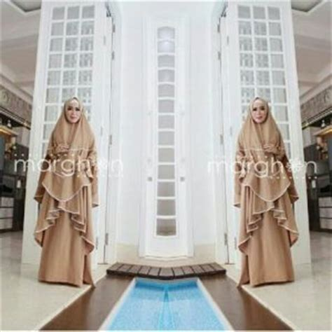 Busana Muslimah Gamishijab Syari Coklat Coksu setelan baju atasan blouse wanita vince terbaru murah ryn fashion