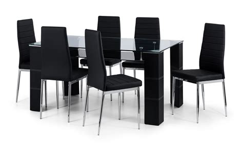 Six Chair Dining Table Set Dining Chairs Inspiring Dining Table 6 Chairs For Home 7 Dining Set 6 Chairs