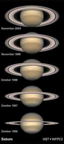 saturns axis why does saturn rings nasa space place