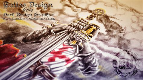 knight times tattoo custom design knights templar forearm sleeve my