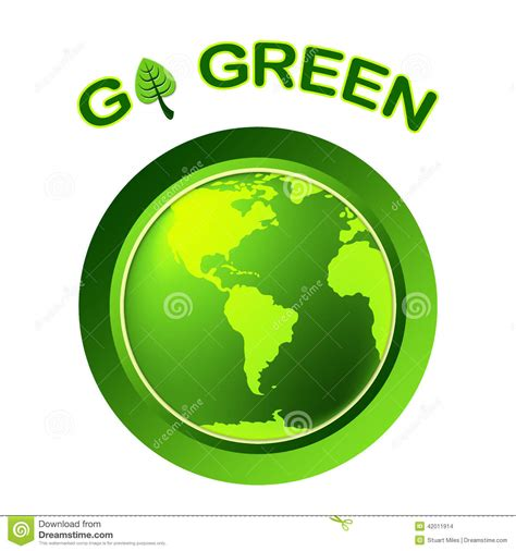 Lse Herba Pelangsing Melanxing Free Green Gel go green indicates earth day and eco friendly stock illustration image 42011914