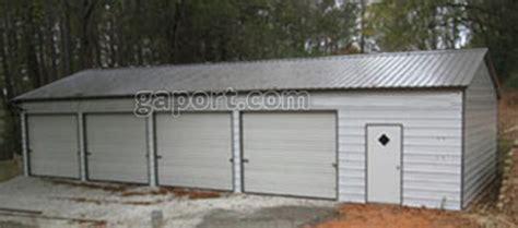 4 car carport four car metal garages 4 bay steel garage