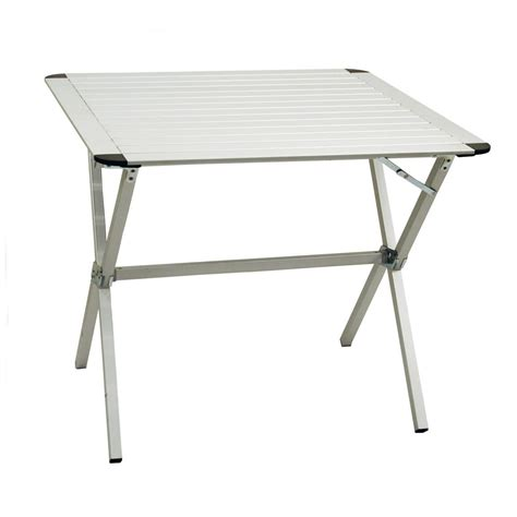 alps mountaineering dining table alps mountaineering 174 square dining table silver 138857