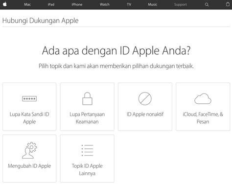 apple support indonesia 4 cara mengatasi masalah apple id has been disabled macpoin
