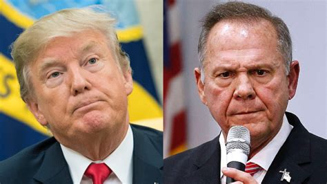 donald trump on roy moore roy moore mr date 14 years old girls but ask their mother