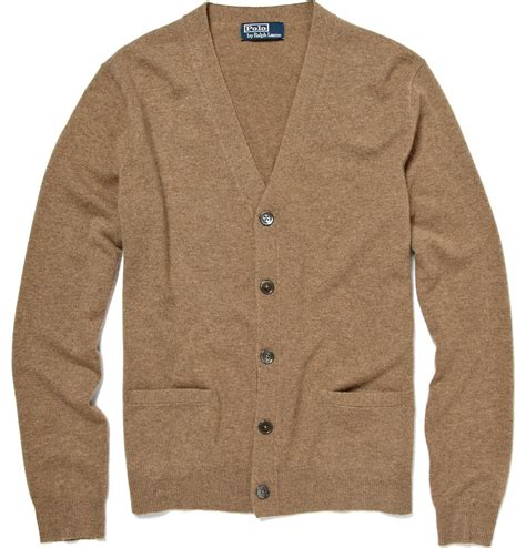 Cardigan Polos Polo Ralph Cardigan In Brown For Lyst