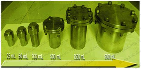 Autoclave Hydrothermal Reactor For Hydrothermal Synthesis 100ml 100ml teflon lined hydrothermal synthesis autoclave