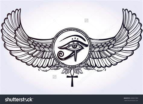 egyptian wing tattoo google s 248 k tattoo ideas