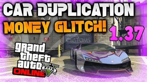 Gta V Online Make Money Solo - gta 5 online solo car duplication glitch unlimited money after patch 1 37 youtube