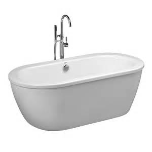 Buy Tub Shop American Standard Cadet White Acrylic Oval