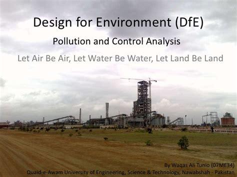 design for environment slideshare design for environment by waqas ali tunio