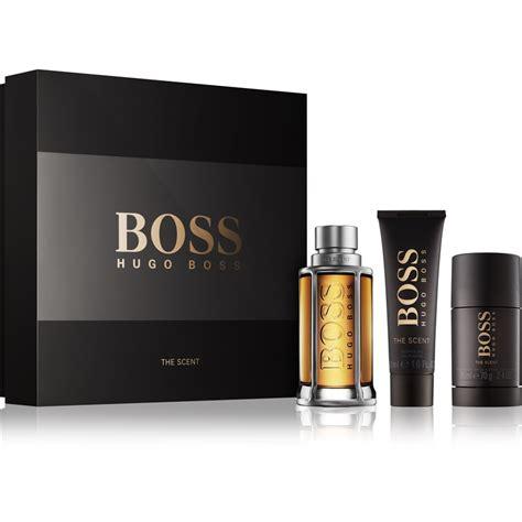 Shower Gel Hugo The Scent For 50ml hugo the scent gift set notino co uk