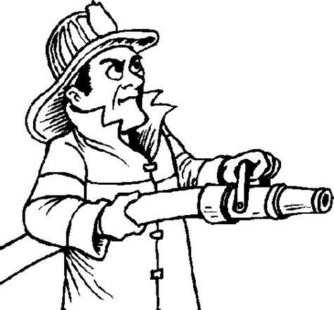 imagenes para colorear bombero dibujo de bombero 5 para colorear dibujos net