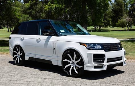 modified range rover custom range rover vogue by forgiato