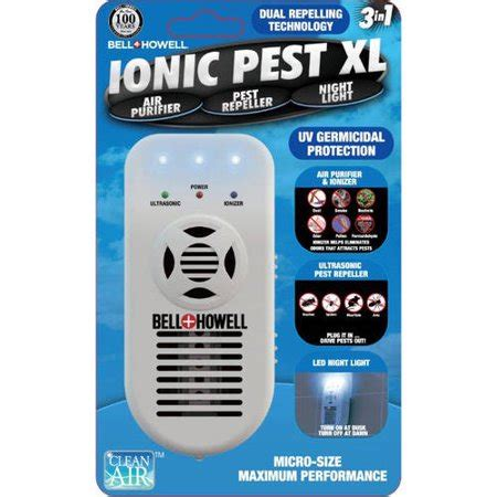 bell howell ionic pest    repeller air purifier