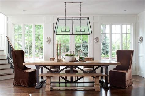 wood and iron dining room table wood and iron chandelier flatiron dining table design ideas