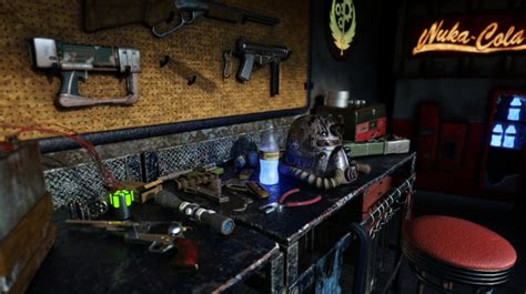fallout themed room fallout themed room by escapement on newgrounds