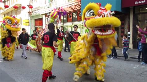 new year 2018 in chinatown san francisco new year mini parade 2018 chinatown san francisco