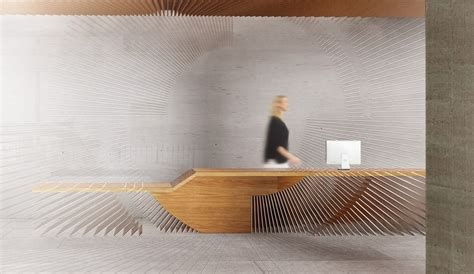 Minimalist L Shaped Desk 12 inspiring reception desk designs